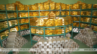 Belarus' gold forex reserves at $9.4bn in 2019